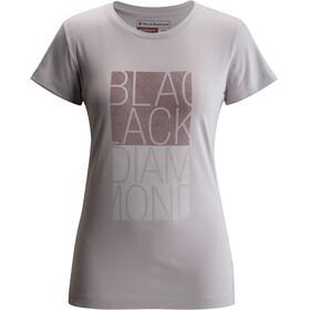 Black Diamond W's BD Block S/S Tee Aluminum